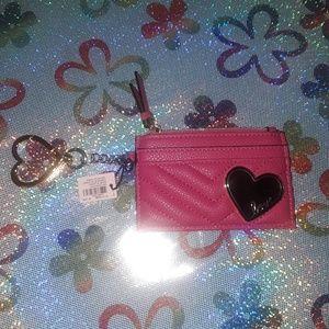 Pink Victoria secret card holder
